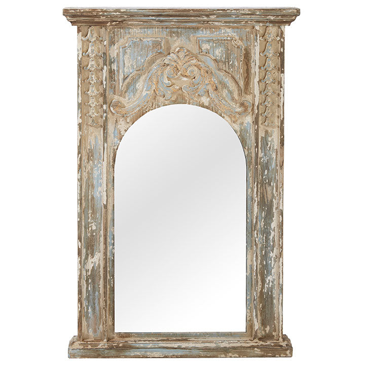 "41"" DISTRESSED MIRROR"