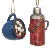 THERMOS AND CUP ORNAMENT