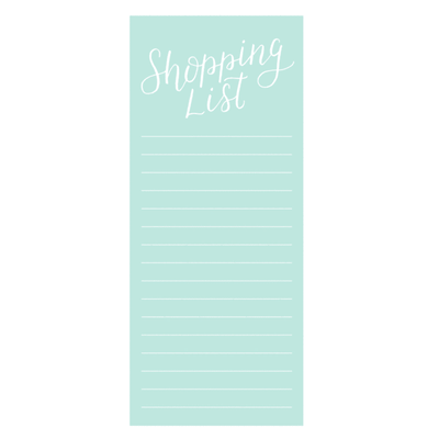Parrott Design Studio - Shopping List Notepad