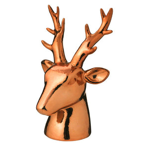 Reindeer Head Figurine - Medium
