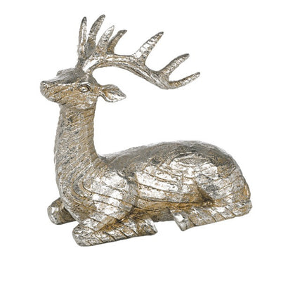 Sitting Deer Figurine