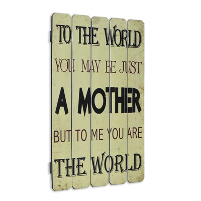 - Wall Art - Mother Inspirational Sign