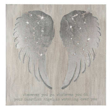Angel Wings Plaque