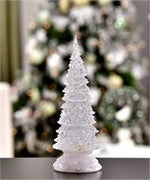 Lighted Water Tree w/ Motion Table Decor