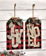 Joy & Noel Plaque