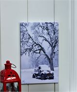 Lighted Canvas Wall Print w/Timer - Truck
