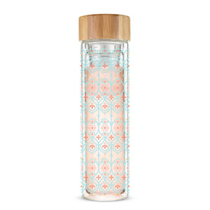 Pinky Up - Blair™ Arabesque Glass Travel Infuser Mug by Pinky Up®