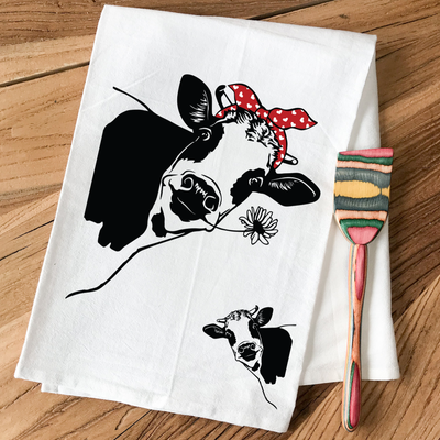 Those Cows! - Kitchen Towel