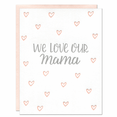 Parrott Design Studio - Our Mama Card