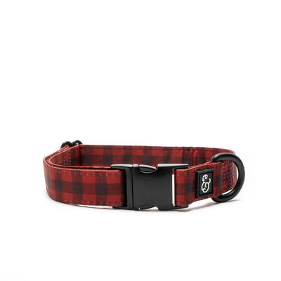 Lucy & Co. - Buffalo Plaid Collar Medium