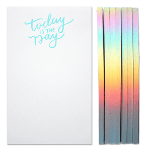 Parrott Design Studio - Today Is The Day Notepad