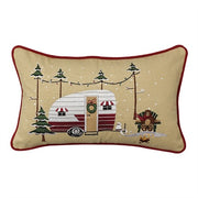 "Christmas Vacation 12"" x 20"" Pillow Set - Polyester Fill"