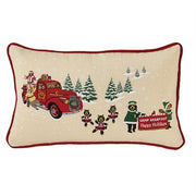 "Bear Parade 20"" x 12"" Pillow - Polyester Fill"