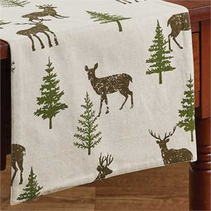 "Oh Deer Table Runner - 72""L"