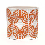 CONCRETE MOSAIC CORAL POT-Large