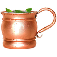 Old Style Shiny Copper Mug