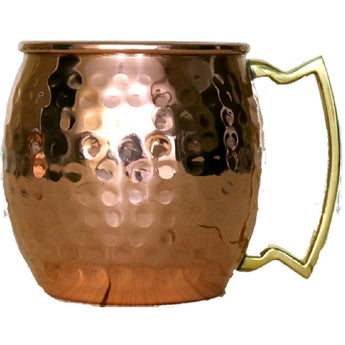 Shiny Hammered Mug