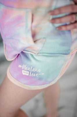 There is no place like home-Rainbow shorts