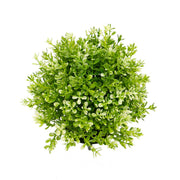 LIGHT GREEN BOXWOOD BALL DOME