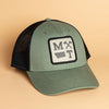 Icons Trucker Hat Olive/Black