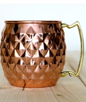 Barrel Diamond Embossed Mug
