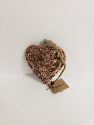 Metal Heart Ornament