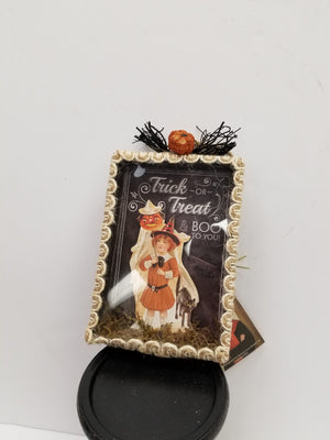 Halloween Shadowbox Ornament