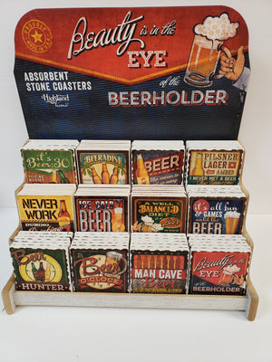 Beer Holder Stone Coaster