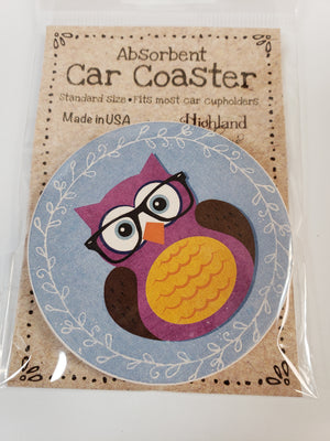 Car Coaster Owl