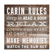 Cabin Rules
