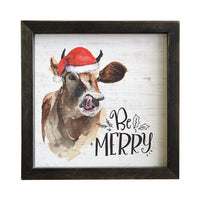 Be Merry Sign