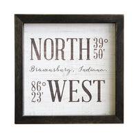 North West Coordinates