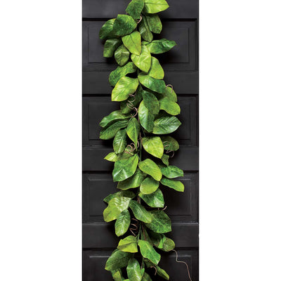 Plantation Magnolia Leaf Garland 4'