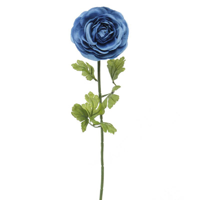 French Blue Ranunculus -Cobalt
