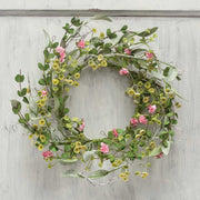 Mini blossom wreath 14""