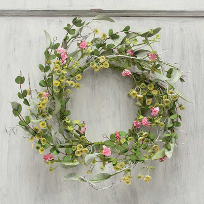 Mini blossom wreath 14
