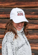 Forever 406 Twill Hat in White Ladies