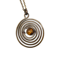 Tiger-Eye River Necklace