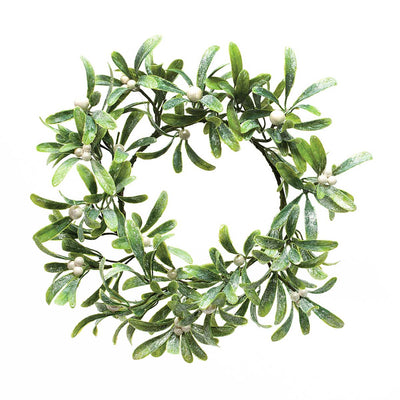 MISTLETOE WREATH 16