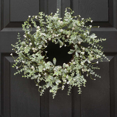 MISTLETOE & PRIVET WREATH 15