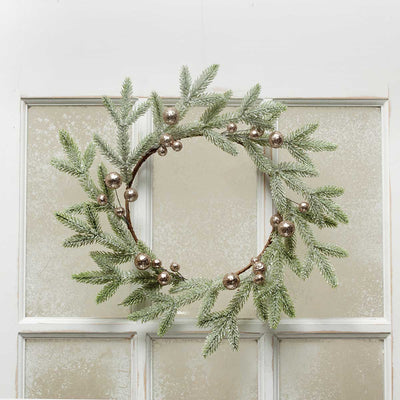 FRENCH FARMHOUSE PINE WREATH