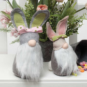 Bunny Cottontail Gnome with Bow 12""