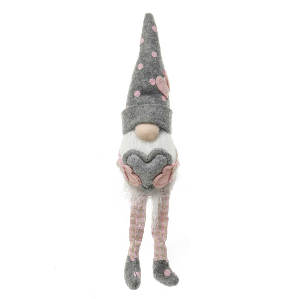 "HEARTFELT GNOME WITH FLOPPY LEGS 2""X11.25"""
