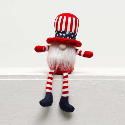 UNCLE SAM GNOME with AMERICANO HAT and FLOPPY LEGS 8