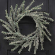 "VIENNA SPARKLE WREATH 24"" PINE"