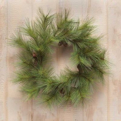 WYOMING PINE WREATH 28