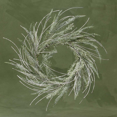 SPARKLE PINE & TWIG WREATH 26