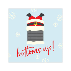 X&O Celebrations - Bottoms Up - Beverage Napkin