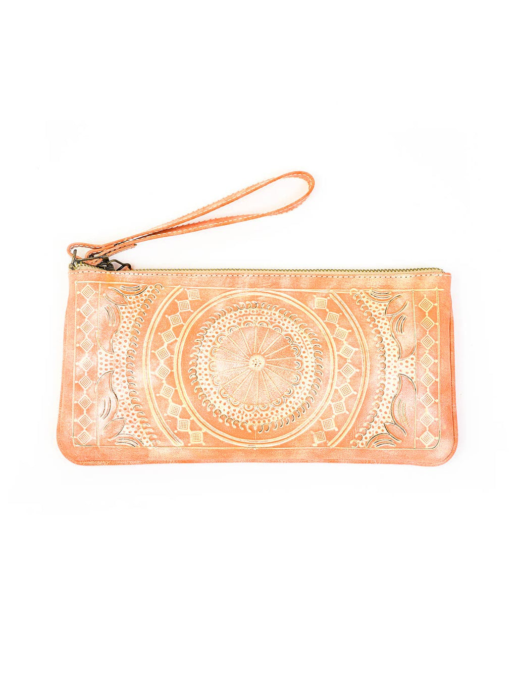 LEADERS IN LEATHER - 4010T Moroccan Clutch with Wristlet