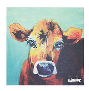 Canvas Wall Decor w/ Cow